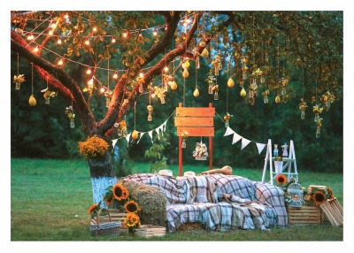 Outdoor Party Card - Palm Press