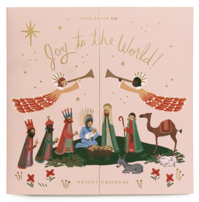 Nativity Advent Calendar - Adventskalender