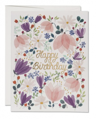 Birthday Whispers - Red Cap Cards