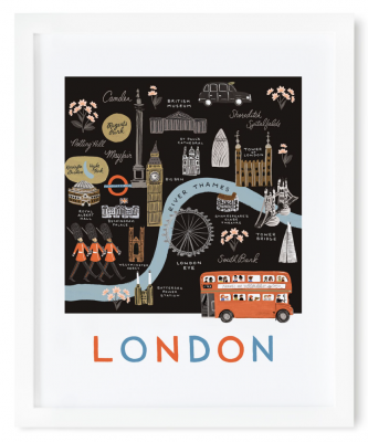London Map Art Print Rifle Paper