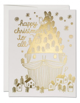 Saint Nick Card Red Cap Cards