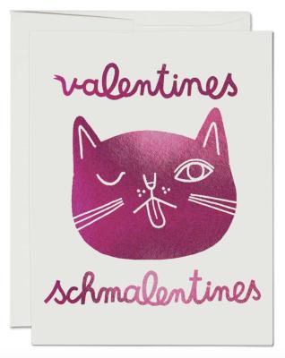 Valentines Schmalentines Card