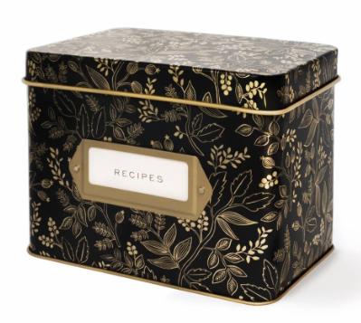 Queen Anne Recipe Box - VE