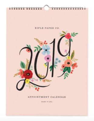 2019 Bouquet Kalender - Rifle Paper Co. Calendar