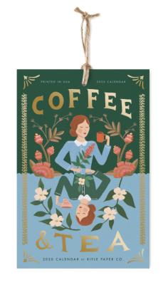 2020 Coffee & Tea Calendar - Rifle Paper Co. Kalender