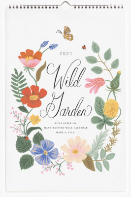Wild Garden Calendar Rifle Paper Co