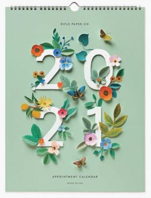 Cut Paper Calendar Rifle Paper Co