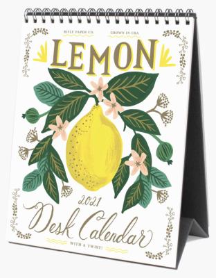 Lemon Calendar Rifle Paper Co Calendar