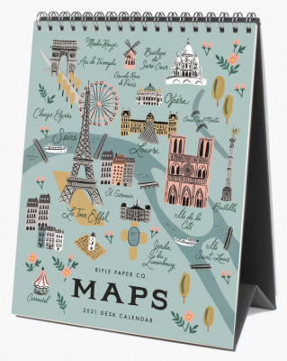 City Maps Calendar Rifle Paper Co