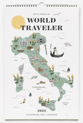 World Traveler Calendar Rifle Paper Co