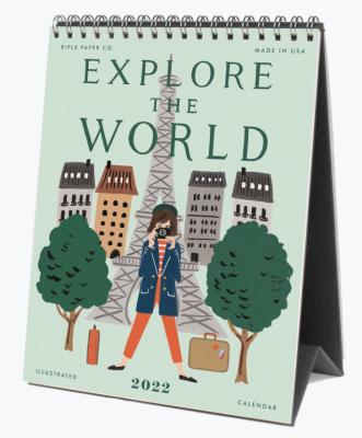 Explore The World Calendar Rifle Paper