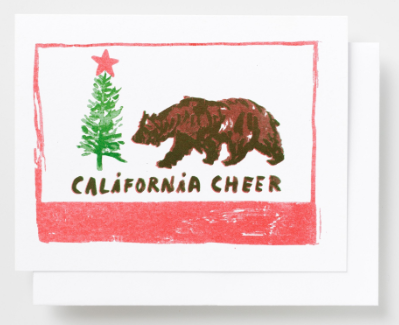 California Cheer Card - Yellow Owl Workshop