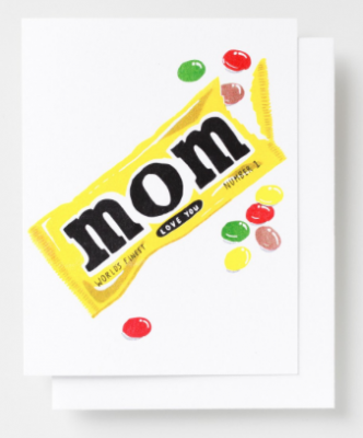 Love You Mom Card - Yellow Owl Workshop