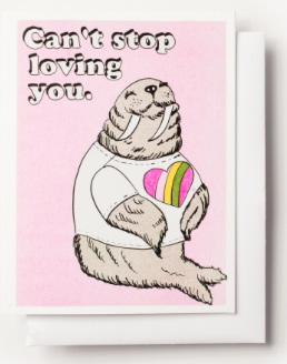 Can t Stop Loving You Card Yellow