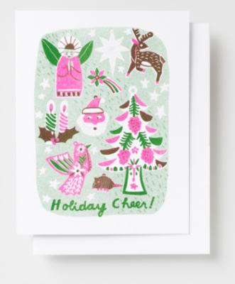 Holiday Cheer Card - Yellow Owl Workshop