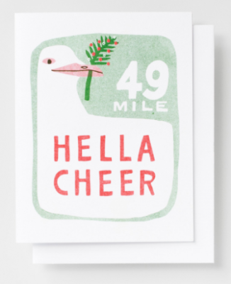 Hella Cheer Card Yellow Owl Workshop
