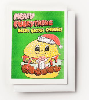 Merry Everything Card Yellow Owl Workshop