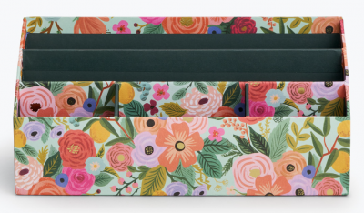 Garden Party Desk Organizer Rifle Paper