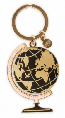 Globe Keychain VE Rifle Paper Co