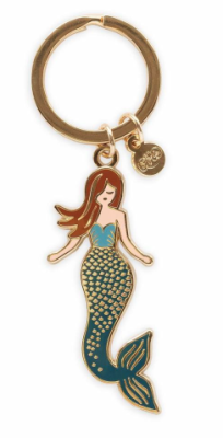 Mermaid Keychain / 1 VE - Rifle Paper Co.