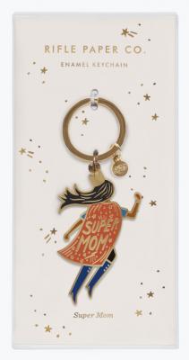 Soaring Supermom Keychain Rifle Paper Co