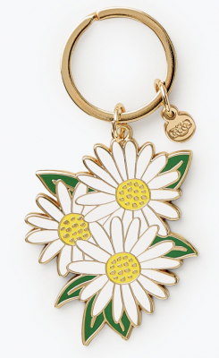 Daisies Keychain - Rifle Paper Co
