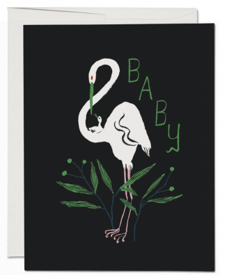 Egrets Card - Red Cap Cards
