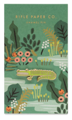 Alligator Pin / 1 VE - Rifle Paper Co.