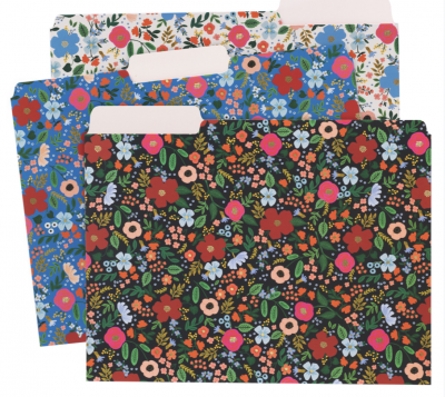 Wild Rose File Folders - Einlegemappen