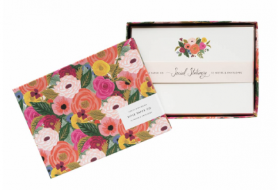 Juliet Rose Social Stationery - VE