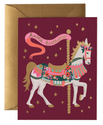 Carousel Birthday - Rifle Paper Co