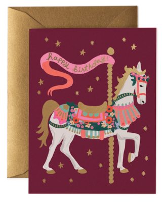 Carousel Birthday - Rifle Paper Co.