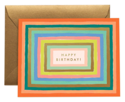 Disco Birthday Card - Rifle Paper Co.