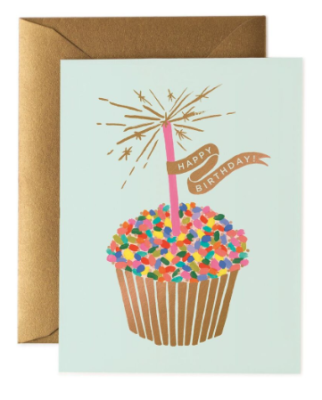 Cupcake Birthday Card - Rifle Paper Co.