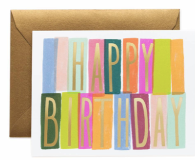M rida Birthday Card - Greeting Card
