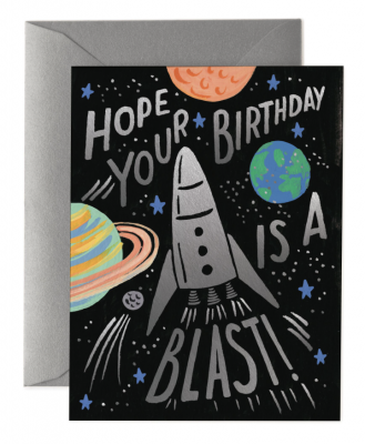 Birthday Blast Card - Greeting Card