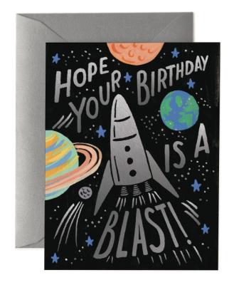 Birthday Blast Card - Greeting Card