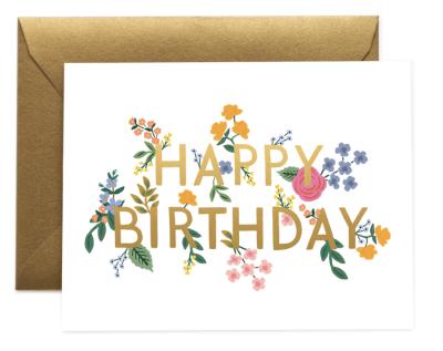 Wildwood Birthday Card - Greeting Card