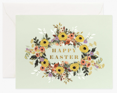 Easter Garden Card - Osterkarte