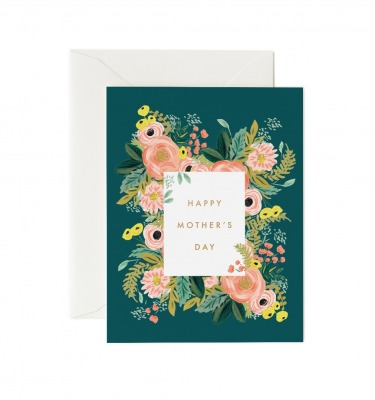 Bouquet Mothers Day Card Greeting Card