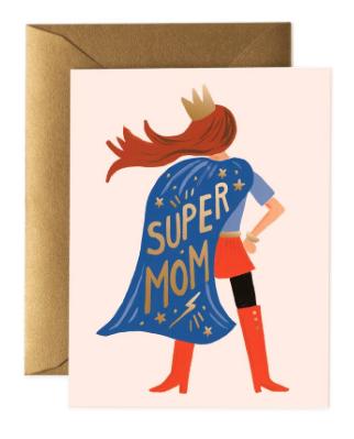 Supermom Card - Rifle Paper Co.
