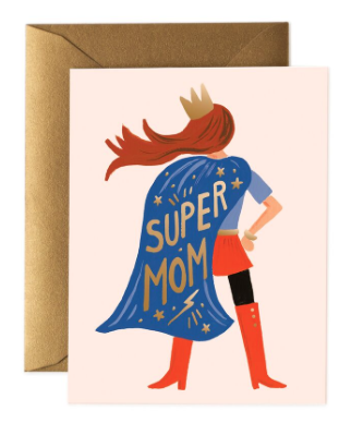 Supermom Card - Rifle Paper Co.