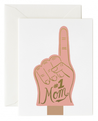 1 Mom Card - Greeting Card