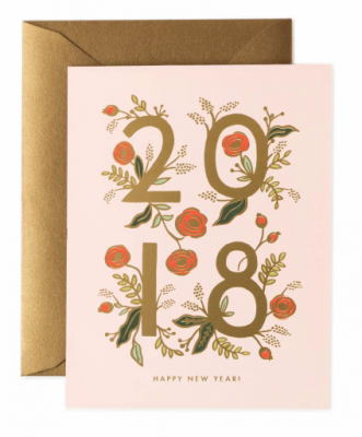 2018 New Year Card - Rifle Paper Co.