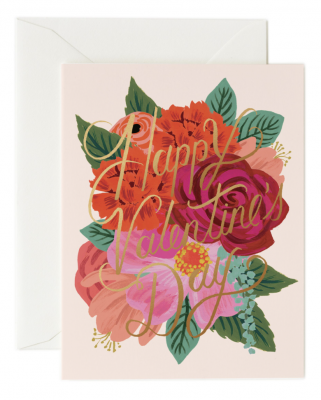 Perennial Valentine Card - Greeting Card