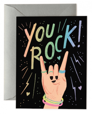 You Rock - Rifle Paper Co
