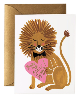 Mane Squeeze Card - Rifle Paper Co.