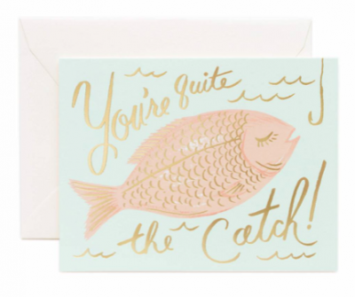 You re Catch Card Rifle Paper Co