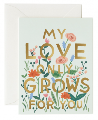 Love Grows Card - Greeting Card