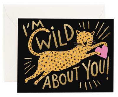 Wild About You Card - Greeting Card